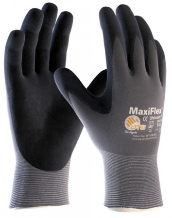 ATG Nylon-Strickhandschuh MaxiFlex Ultimate 2440 -12er Pack-