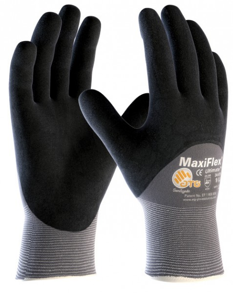 ATG Nylon-Strickhandschuh MaxiFlex Ultimate 2441 -12er Pack-